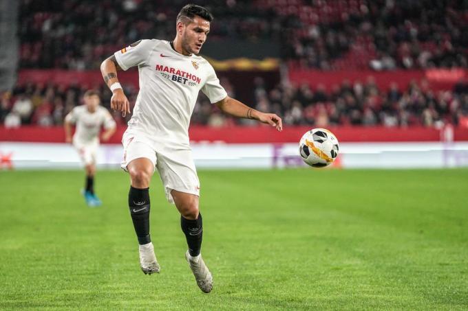 Rony Lopes, en el Sevilla 2-0 Qarabag.