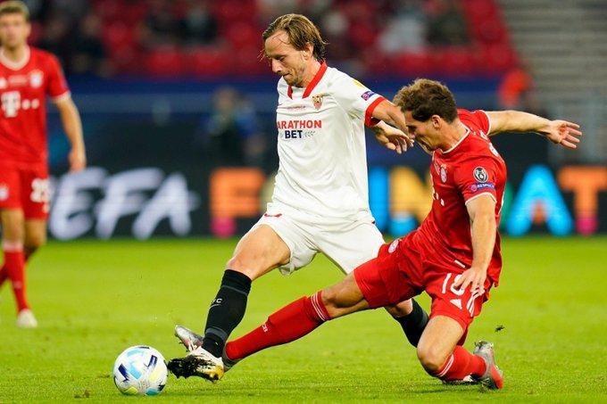 Ivan Rakitic, contra el Bayern (Foto: SFC).