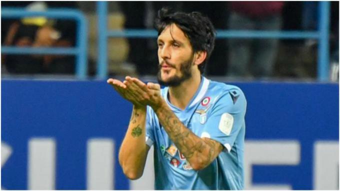 Luis Alberto, en Lazio-Bologna.