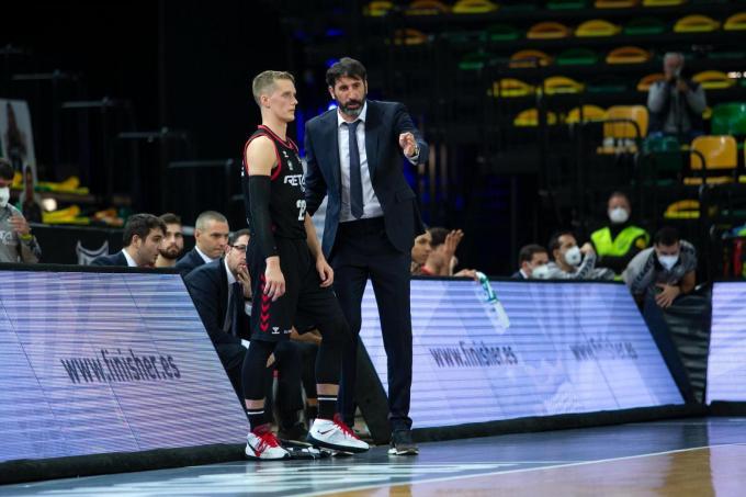 El Betis-Bilbao Basket pasa al domingo 22 tras el positivo de Hakanson