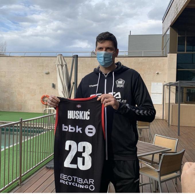 Conoce a Goran Huskic, el refuerzo interior del Bilbao Basket