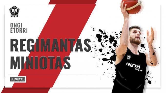 Regimantas Miniotas se presenta con hambre para rendir con Bilbao Basket