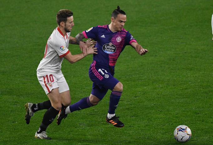 Rakitic, contra el Valladolid (Foto: Kiko Hurtado).