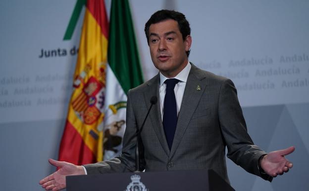 Juanma Moreno, presidente de la Junta de Andalucía, ya valora la normalidad social.