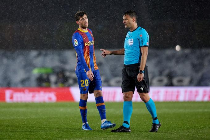 Sergi Roberto también critica a Gil Manzano y el VAR por el penalti de Mendy a Braithwaite