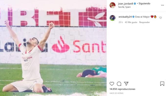 Comentario de Bailly sobre la foto de Joan Jordán.