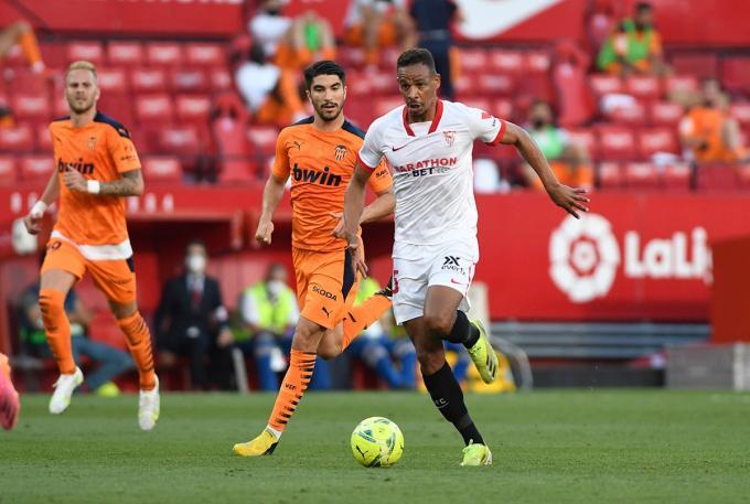 Fernando, en el partido ante el Valencia (Foto: Kiko Hurtado).