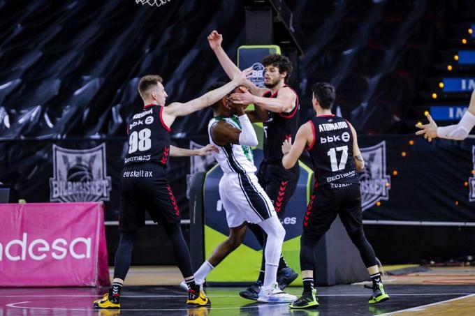 El Bilbao Basket es de ACB: contundente victoria para sellar la permanencia