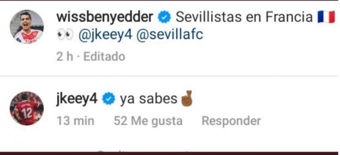 La respuesta de Koundé a Ben Yedder.