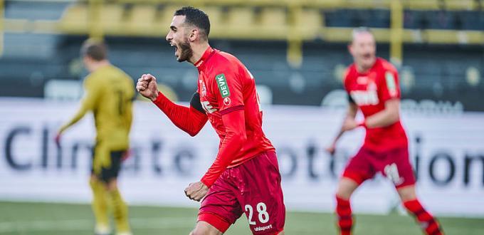 Ellyes Skhiri, vinculada al Sevilla FC.