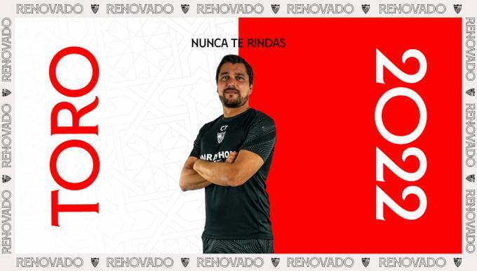 Cristian Toro, renovado hasta 2022 Foto: Sevilla FC