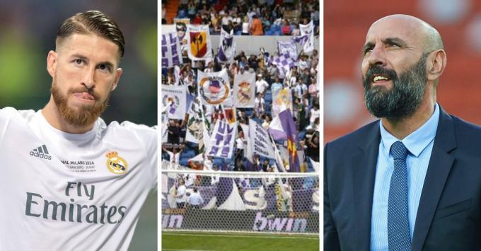 Sergio Ramos, la afición del Madrid y Monchi