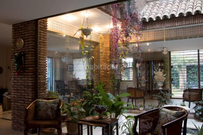 La casa donde vivía Maradona (Foto: Habitaclia)