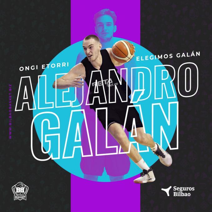 Álex Galán se suma al juego interior del Bilbao Basket