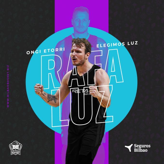 El brasileño Rafa Luz, nuevo base del Bilbao Basket